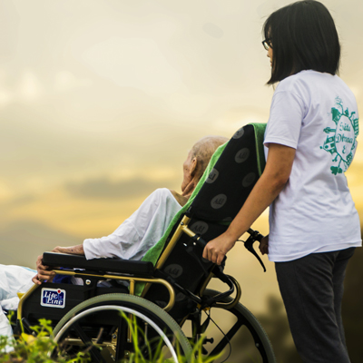 We care for the Elderly and their well being!